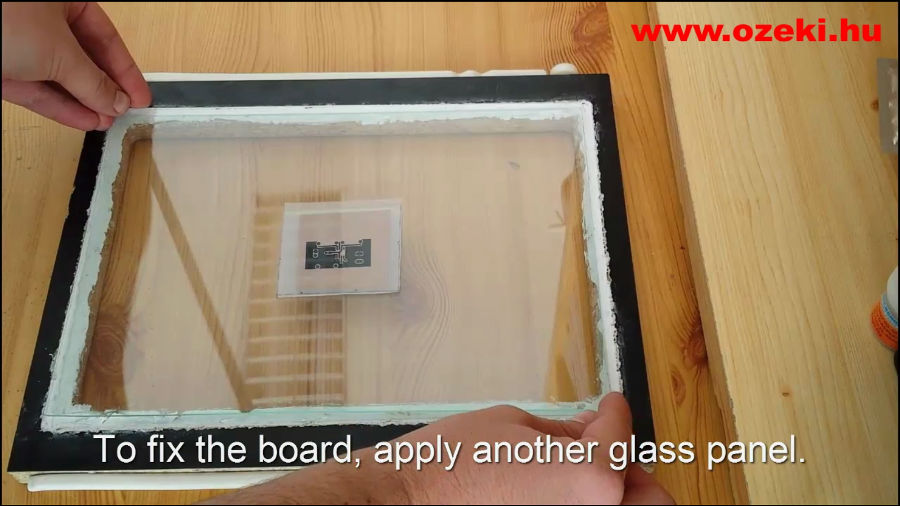 install glass panel
