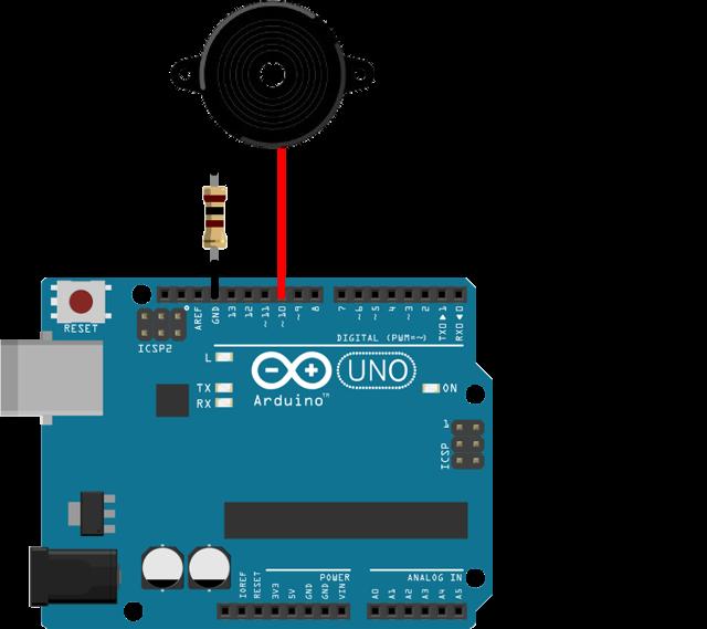OZEKI - How to use a buzzer in arduino