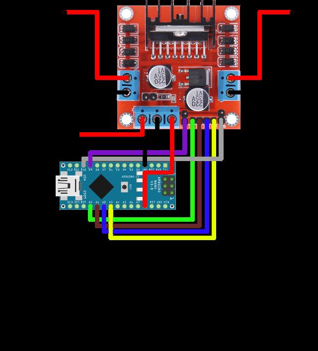 Ozeki dc motor arduino nano for Arduino nano motor control