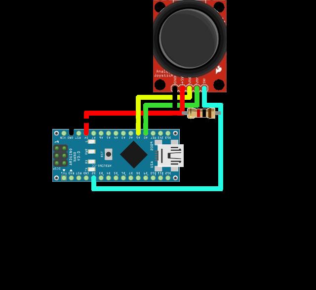Ozeki joystick arduino nano