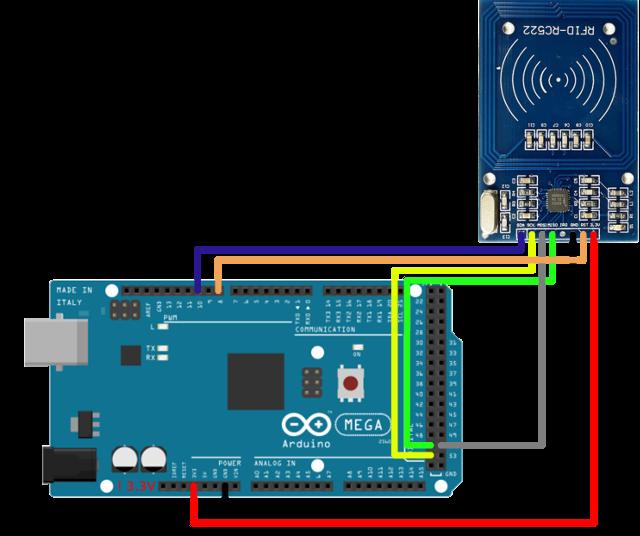 Ozeki nfc reader arduino mega