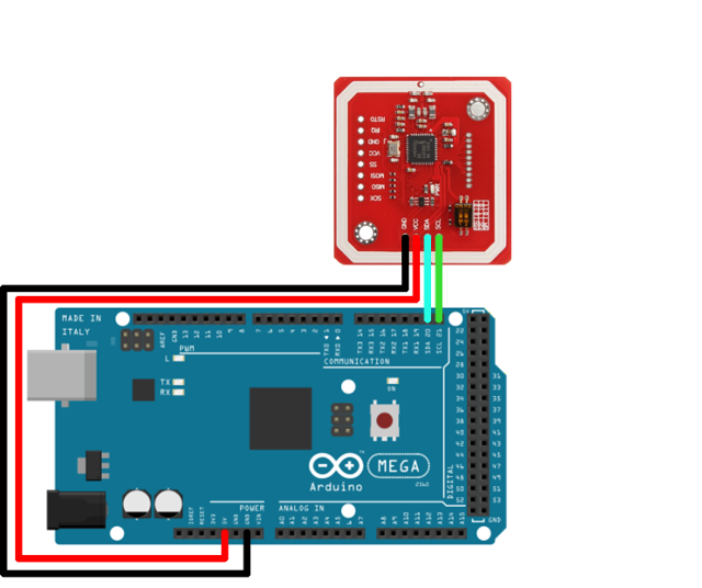 Ozeki - NFC Reader Arduino Mega 2560