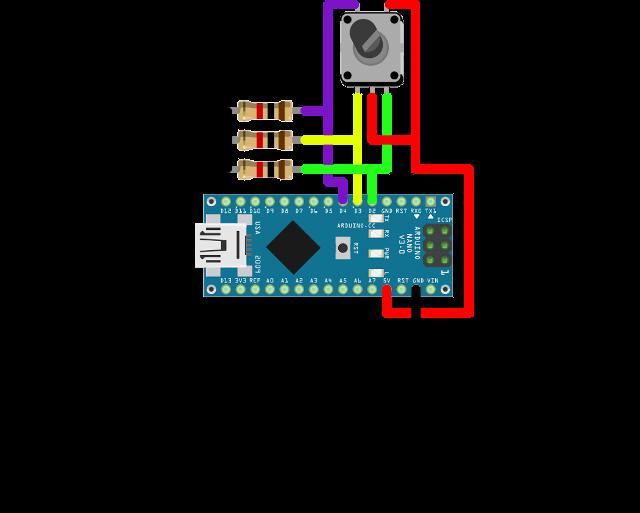 Ozeki rotary encoder arduino nano