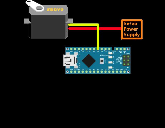Ozeki servo motors arduino nano for Arduino nano motor control