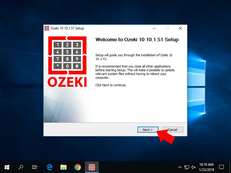 OZEKI - Install Ozeki 10 on Windows