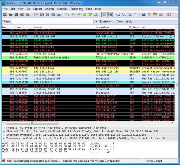 OZEKI - How to capture network traffic with Wireshark