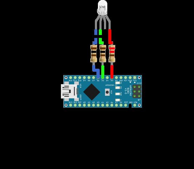 Ozeki How To Setup A Rgb Led On Arduino Nano