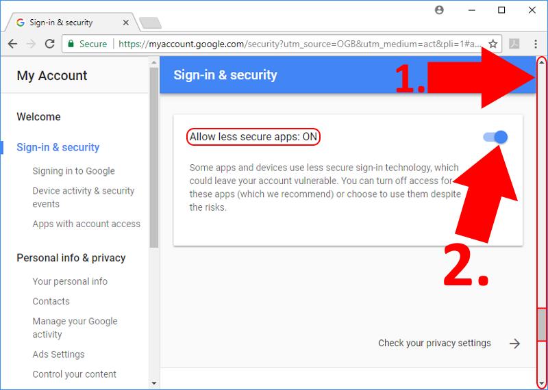 OZEKI - Email Gmail