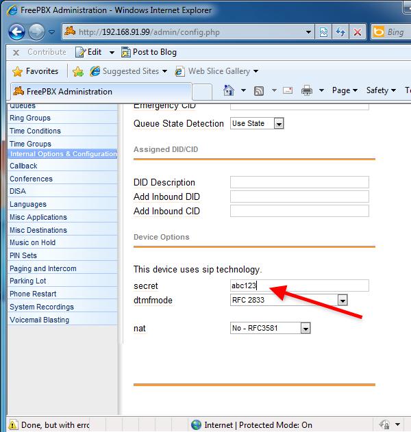 OZEKI - How to create a SIP account in FreePBX